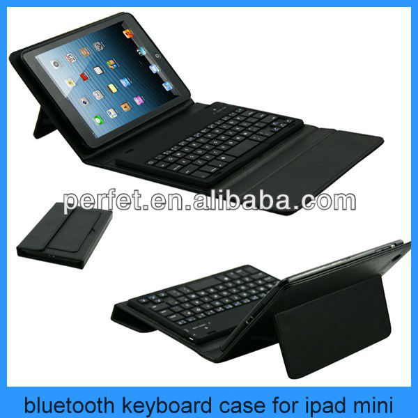 silicone keyboard for ipad/leather case for ipad with keyboard/keyboard for ipad mini