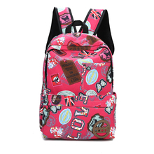 china supplier custom campus fancy fashion backpack ladies