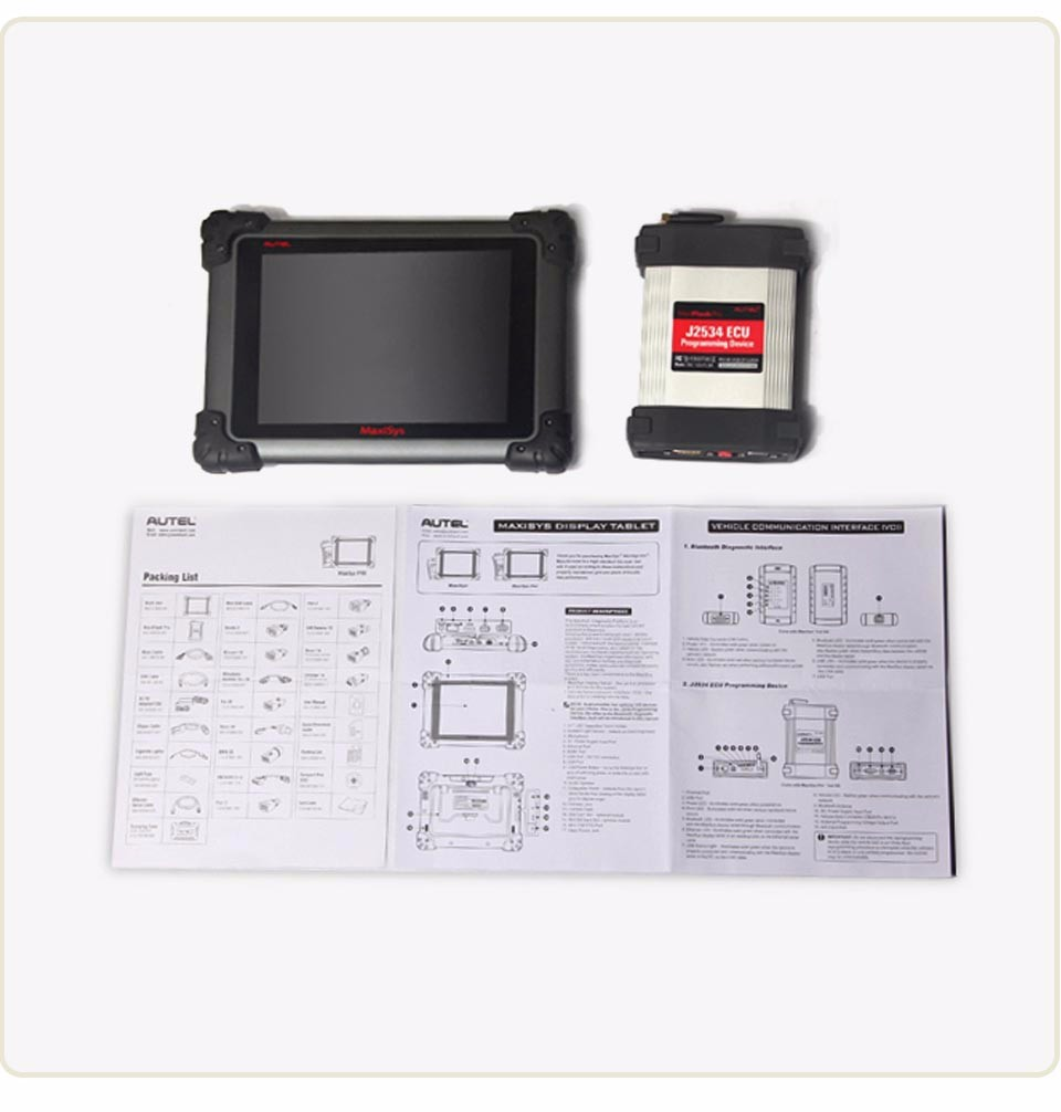 2017 Original Autel Maxisys pro 908P Support J2534 Programador ECU Programmer Programming Tool 1 Year Free Update