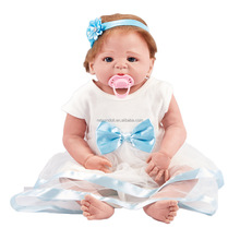 22 Inches Educational Kids Toys Girl Boy Playmates Christams Birthday Party Gifts Mummy Training Reborn Doll Action Figure Toy