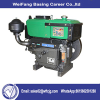 Cheap but high quality 5hp 10hp 15hp 18hp 20hp Single Cylinder water cooled diesel engine