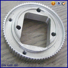 Special shape aluminum timing pulley wheel