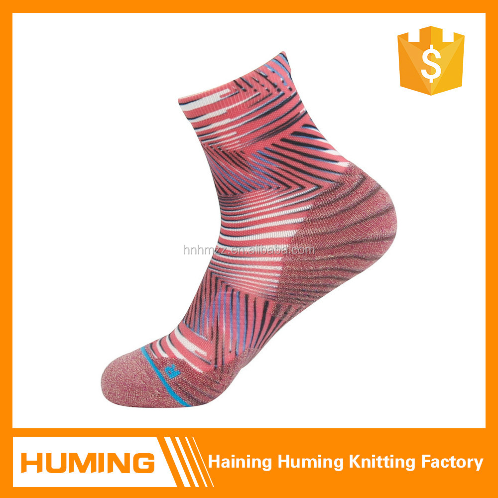 custom cushioning ankle compression socks