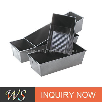 4 PCS Non-stick Carbon Steel Loaf Pan Set