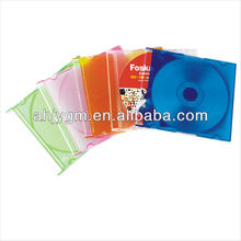 5.2MM Different Colors Single Plastic/PS CD Box/Case