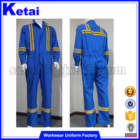Men's Mechanic Two Piece Overalls,Oil Refinery Work Wear,Mining Safety Work Wear