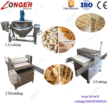 CE Approved Snack Granola Bar Making Production Line Cereal Protein Bar Machine