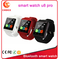 high quality u3 u8 u9 smart watch use blue tooth with remote camera