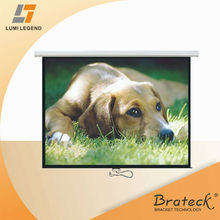 "4:3 Ratio 120"" Standard Auto-lock Manual Projection Screen"