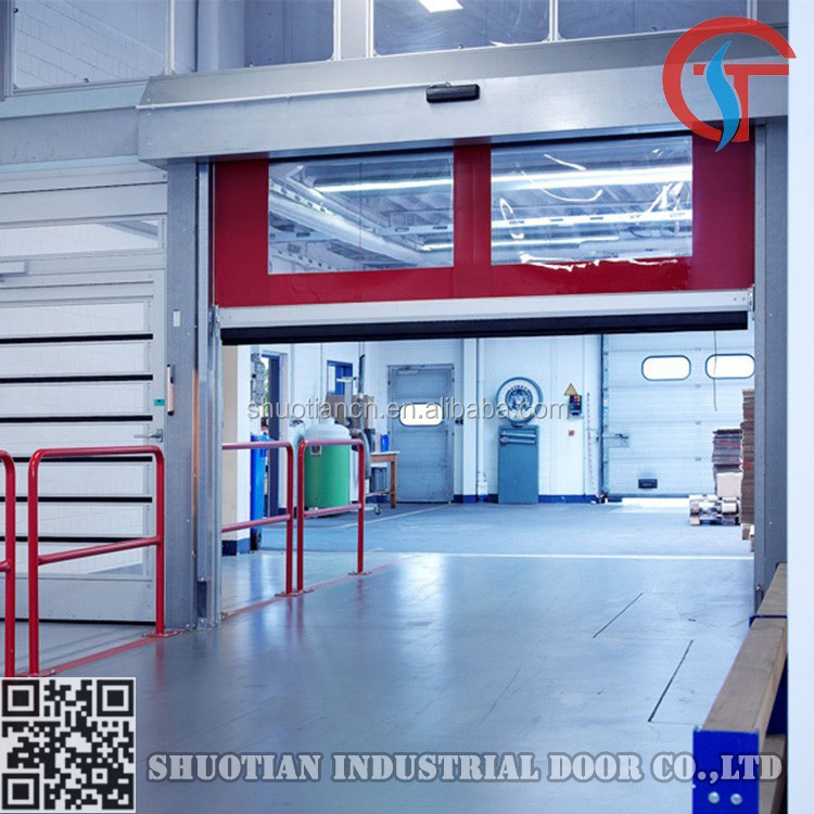 Internal Roll-up high speed automatic rapid speed door