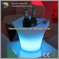 Round LED Ice Bucket