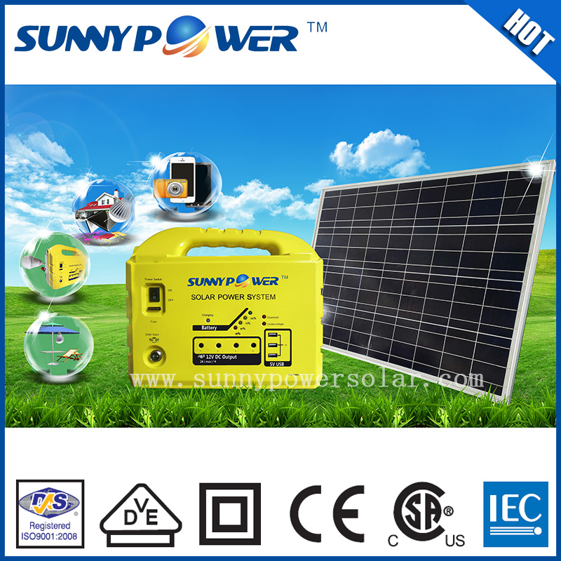 Hot selling 20w/40w/60w/80w/100w/120w commercial use solar system for home use
