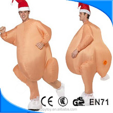 HI Turkey inflatable costume custom made mascot costume for adult