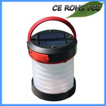 Rechargeable Portable LED Solar Camping Lantern Lights For Campers