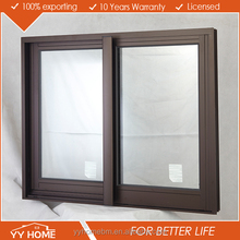 YY Home high quality double glass thermally broken aluminium sliding window price