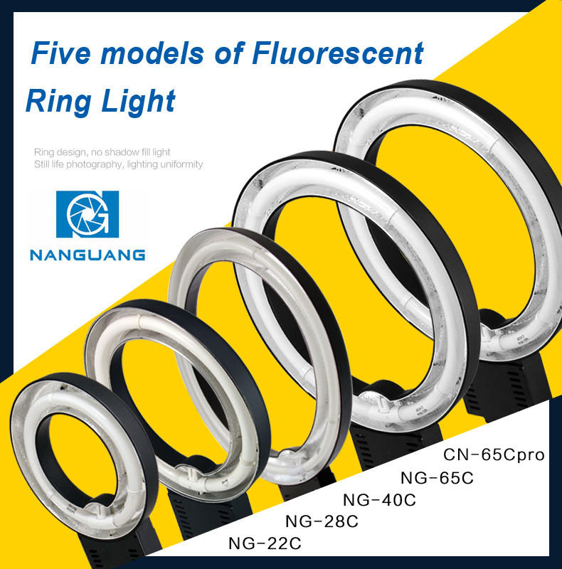 NanGuang NG-28C Ring fluorescent lighting photo ring light video ring light