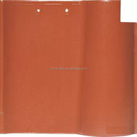 One-Piece Barrel Clay Roof Tile W/Water-Proof