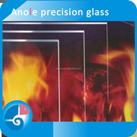 Anole 6mm fire resistant glass Robax temperature resistant For Worktop savers