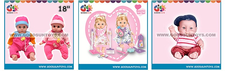 Custom Made Plastic Doll Toy Doll Chinese Manufacturer
