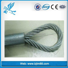 wire cable steel sling, safety rope wire