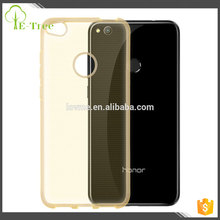 Ultra Slim Factory Price MOQ 50 PCS Transparent Clear TPU Gel Case Cover For Huawei Honor 8 Lite