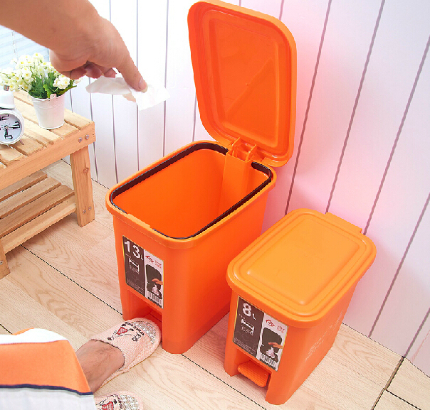 cheap kitchen round rubbish decorative fancy bin
