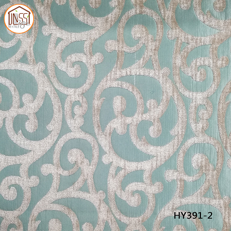 Home Textile,High quality yarn-dyed jacquard curtain fabric wholesale and custom
