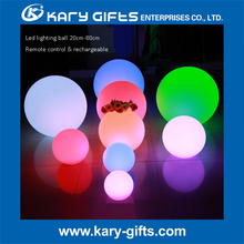 floating waterproof led light glow swimming outdoor pool ball light led event furniture