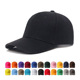AimTrend Adult plain Solid Color Shell Athletic Hat Sports Blank Adjustable Low Profile Baseball Cap