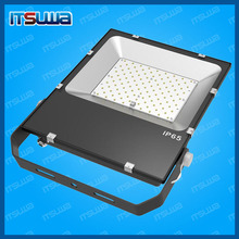 MeanWell driver IP65 outdoor 10w 20w 30w 50w 70w led flood lighting with Motion PIR Sensor