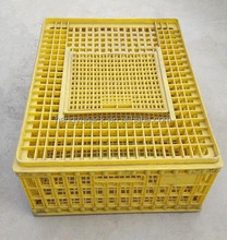 high quality mesh plastic chicken duck crate