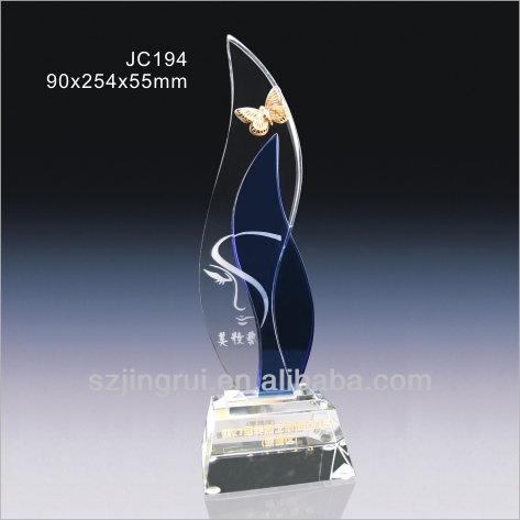 unique design crystal award souvenir