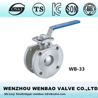 WB-33 Wafer ball valve 1/2 inch /wafer ball vavle SS /wafer ball valve china