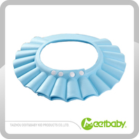 Soft Adjustable Baby Head Protector Shower Caps