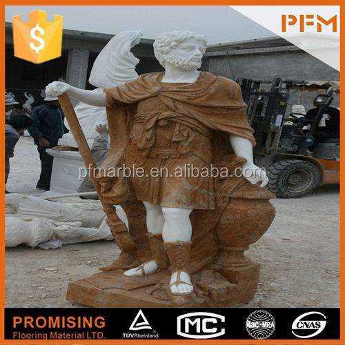 hot sale natural well polished marble made hand carved garden decoration horse head marble sculpture