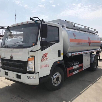 Sino HOWO 8000 liter fuel tanker truck for sale
