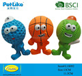 2018 new latex dog play toy tennis ball basketball and football pattern