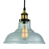Wholesale 20th C. Vintage Fixtures Factory Filament Clear Glass Barn Pendant Collection Industrial Lighting