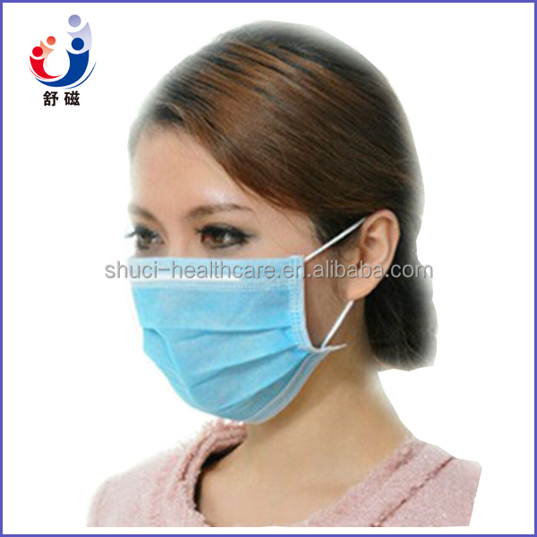 Factory Disposable 1/2/3ply non woven face mask with ear-loop / surgical face mask