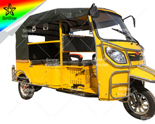 2017 Europe rickshaw used moto bajaj taxi electric three wheeler Venus-SRX1