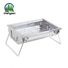 Circle Square Stainless Steel Barbecue Crimped Wire Mesh