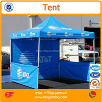 3x3 outdoor promotional folding tent printing sidewall exhibition canopy