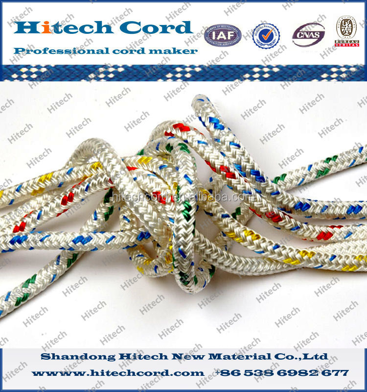 Nylon double braided anchor line for ship/yacht rope