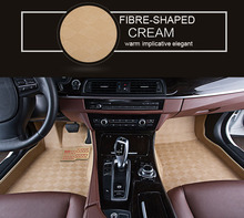 Best Price Sale Fibre-shaped Leather Unique Car Mat