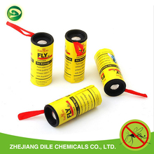 Eco-friendly sticky fly ribbon glue paper trap for wholesale, yellow sticky trap