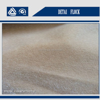 5% off 2015 fashion 300 gsm soft flocking cashmere for clothes clothing raw material DT-18