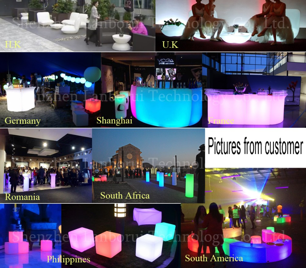 led furniture 2.5meters