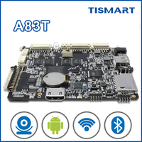 TISMART octa core DS832 arm motherboard design for touch screen android tablet pc with rj45 slot ethernet