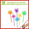 Promotional Custom Logo Printed Plastic Windmills