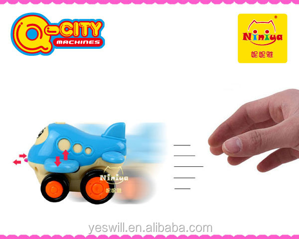 Kids plastic friction plane,cheap small toy airplane wholesale